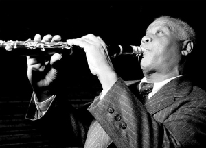 Sidney Bechet on Clarinet